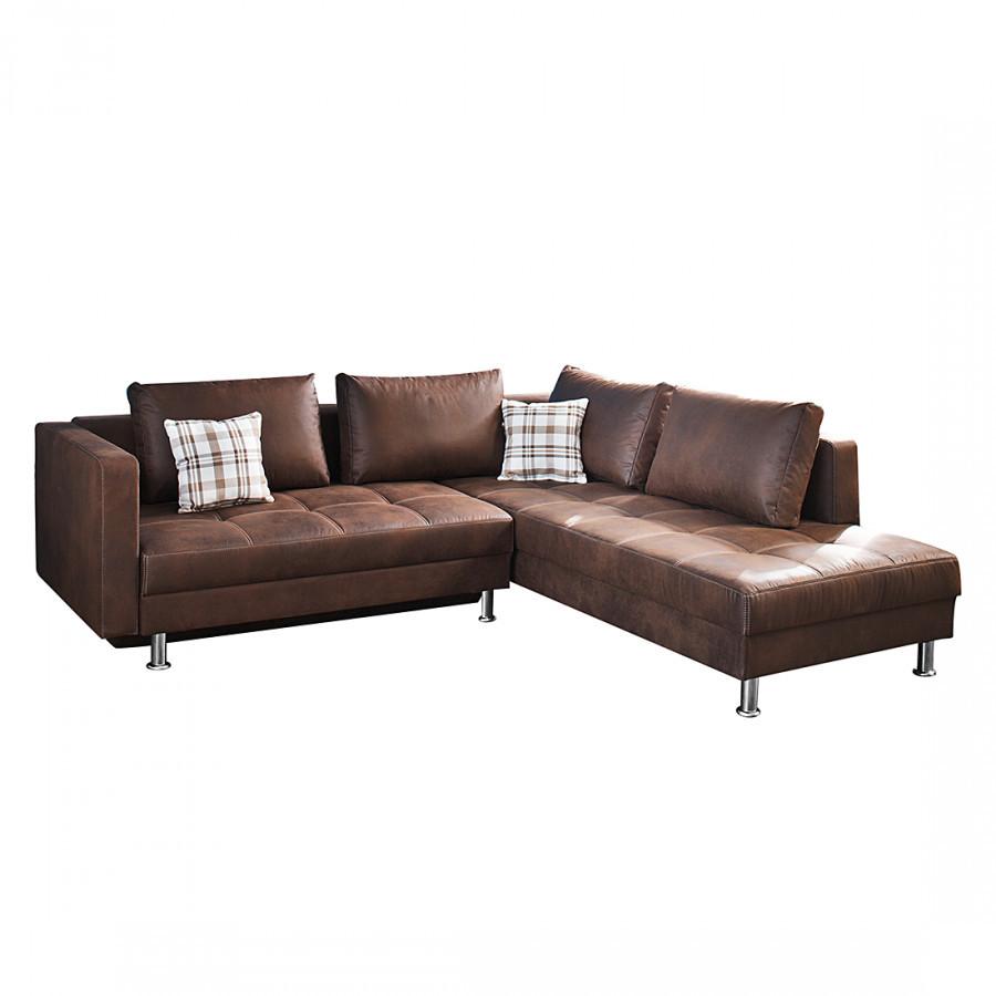 Ecksofa Mit Schlaffunktion  Sofa mit Schlaffunktion von Home Design bei Home24