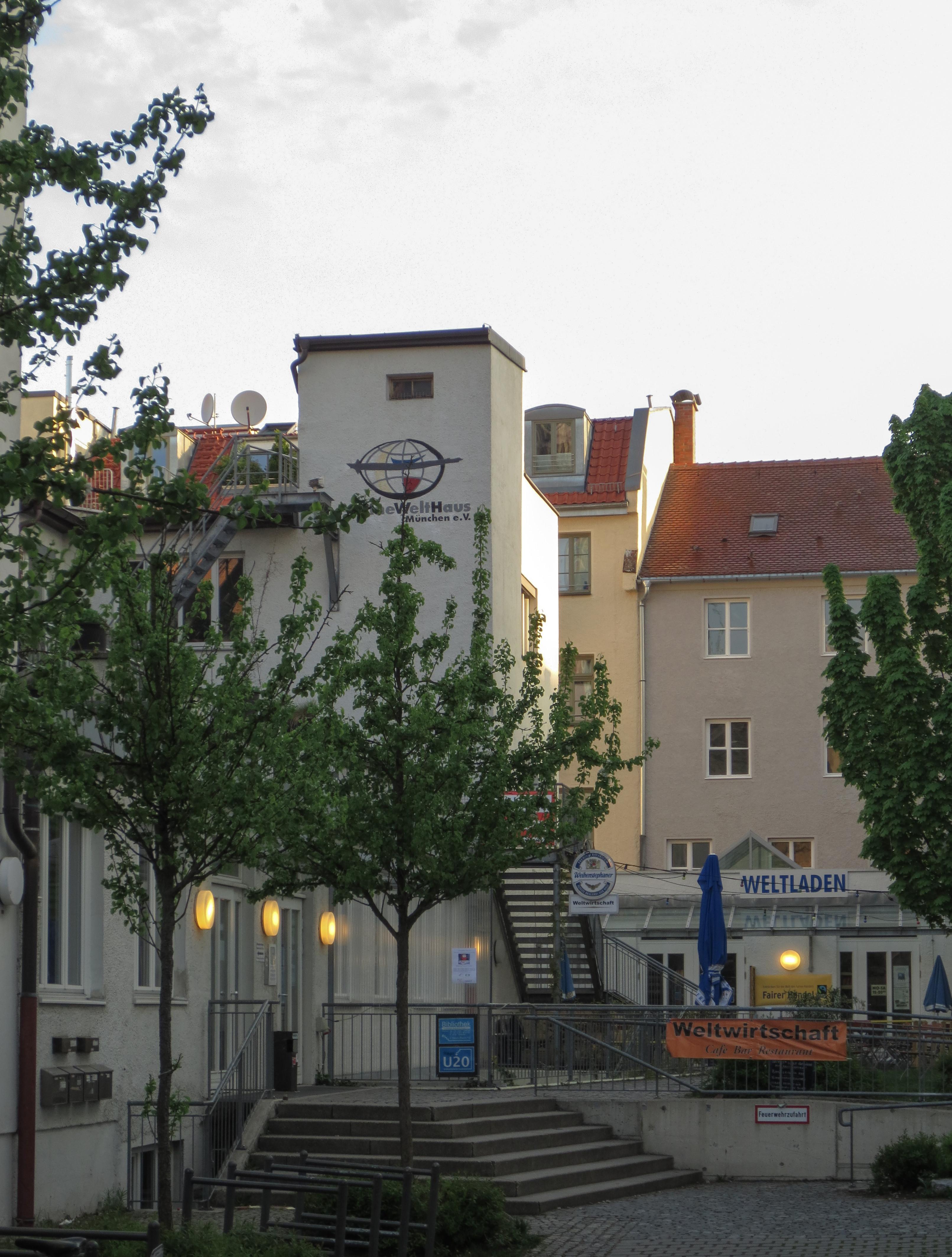 Eine Welt Haus München  File Eine Welt Haus München 013 Wikimedia mons