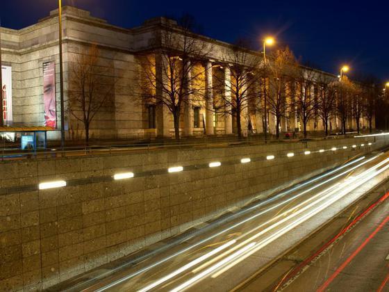 Eine Welt Haus München  Kultur in München Haus der Kunst hofft auf ruhigere
