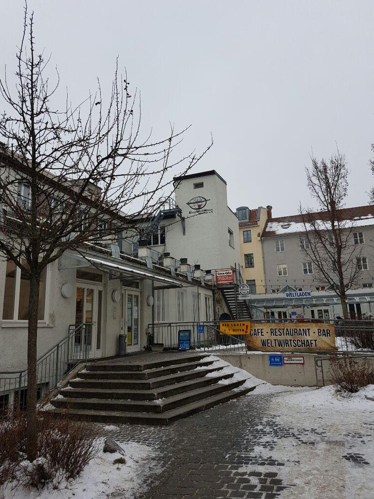 Eine Welt Haus München  SPD Blockwart Ernst Dill ruiniert italienischen Gastronom