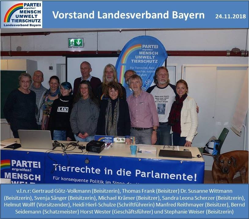 Eine Welt Haus München  24 11 2018 Mitgliederversammlung des LV Bayern im Eine