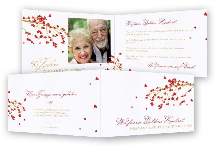 Einladung Goldene Hochzeit Vorlage Word  Goldene Hochzeit Einladung Vorlage