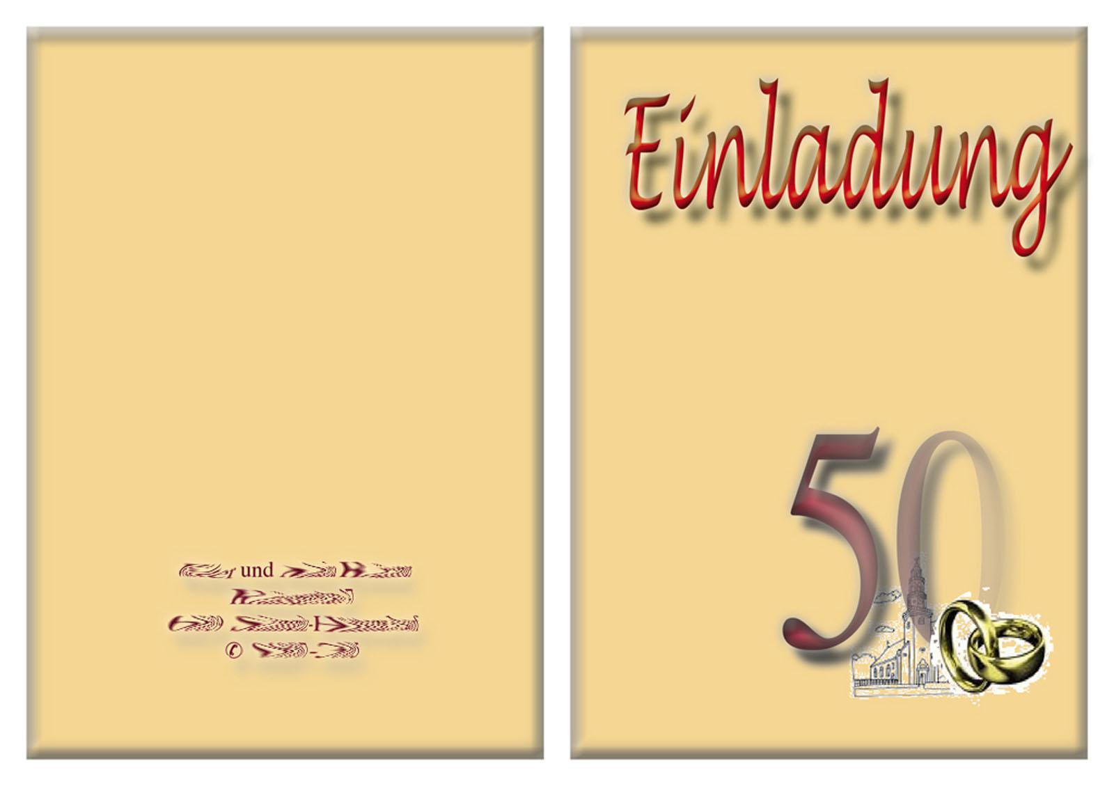 Einladungskarten Goldene Hochzeit Kostenlos Ausdrucken  Ehrfürchtige 12 Bild Einladungskarten Goldene Hochzeit