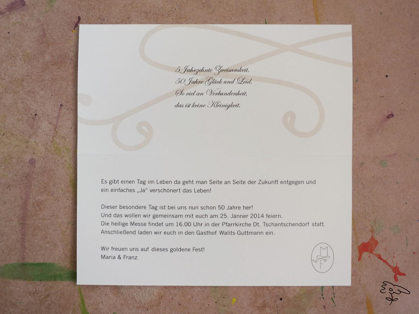 Einladungskarten Goldene Hochzeit Kostenlos Ausdrucken  Einladungskarten Goldene Hochzeit