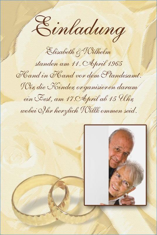 Einladungskarten Goldene Hochzeit Kostenlos Ausdrucken  Einladungskarten Goldene Hochzeit Kostenlos Zum Ausdrucken