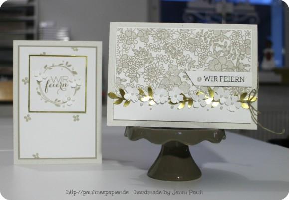 Einladungskarten Zur Goldenen Hochzeit  Einladungskarten zur Goldenen Hochzeit – Paulines Papier