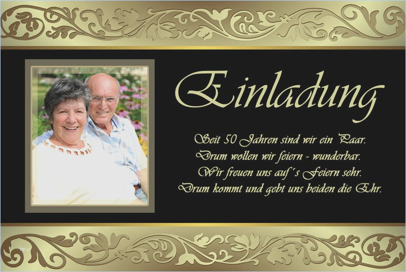 Einladungstexte Goldene Hochzeit  Goldene Hochzeit Einladungstext innerhalb Einladungstext