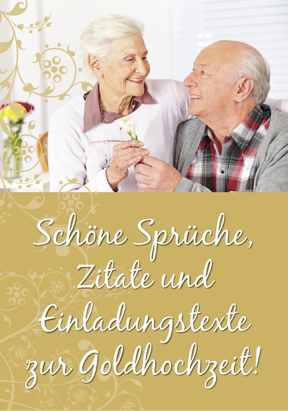 Einladungstexte Goldene Hochzeit  Schöne Sprüche Zitate Gedichte und Einladungstexte für