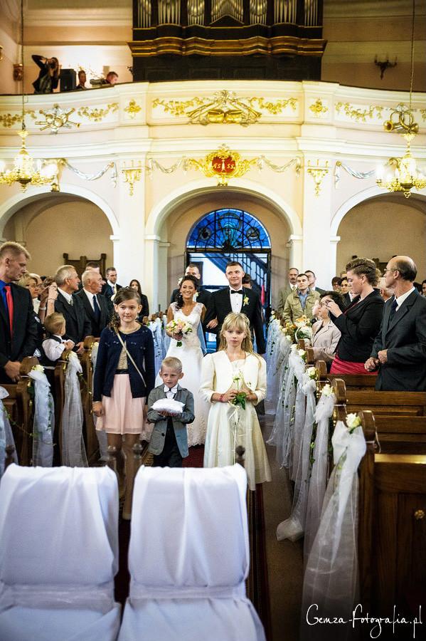 Hochzeit Einzug Kirche