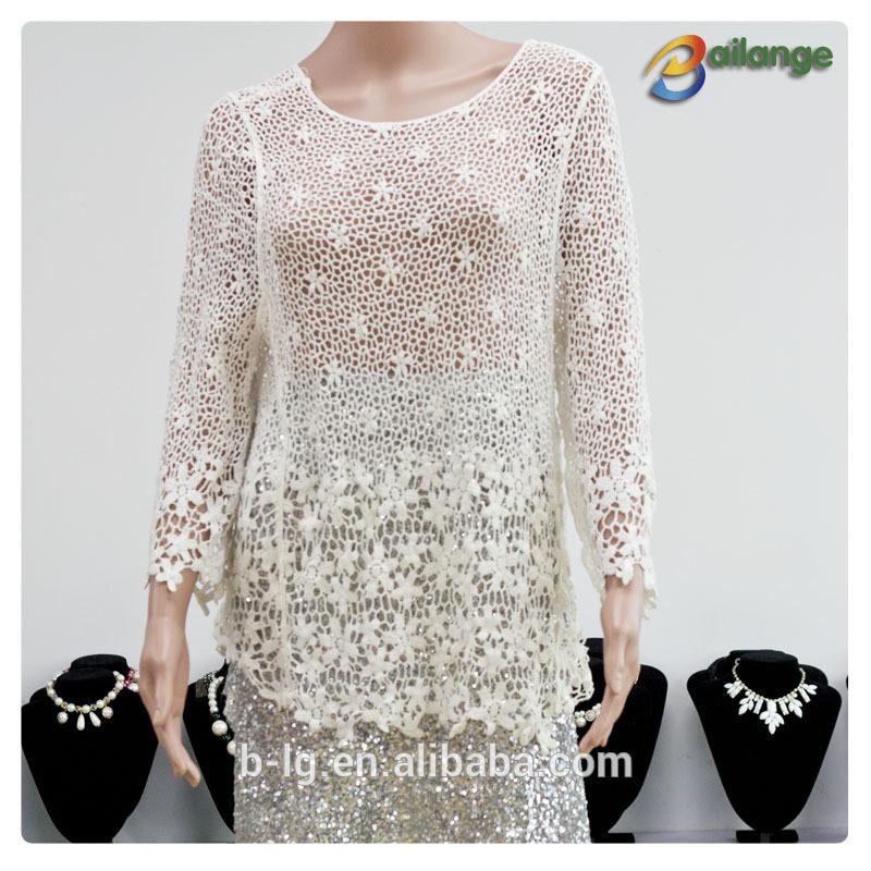 Elegante Blusen Hochzeit  Bailange blusen& tops Produktart spitzenbluse neue mode