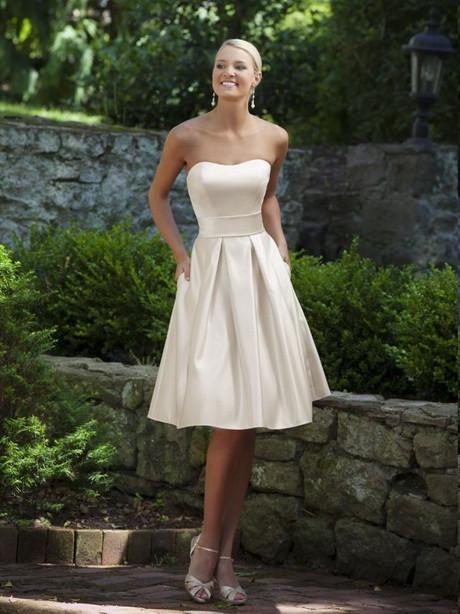 Elegantes Sommerkleid Für Hochzeit  Weißes kleid hochzeit