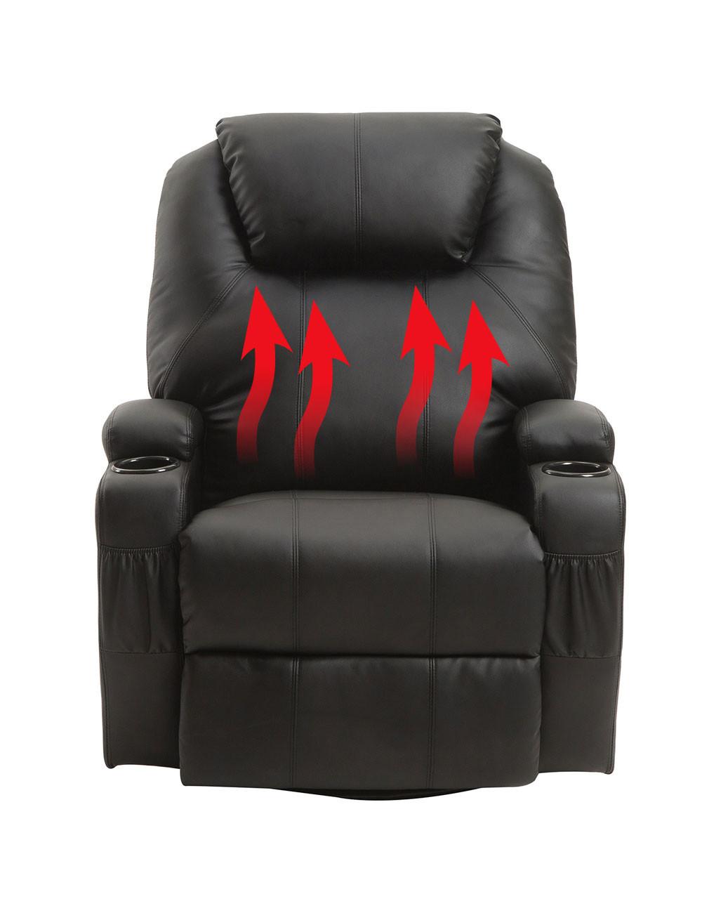 Elektrischer Sessel  Elektrischer Sessel mit Wärme und Massagefunktion