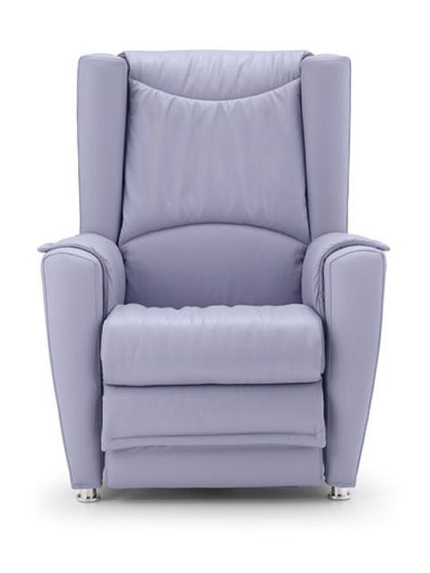 Elektrischer Sessel  Heka Elektrischer Massagesessel aus Stoff Kunstleder