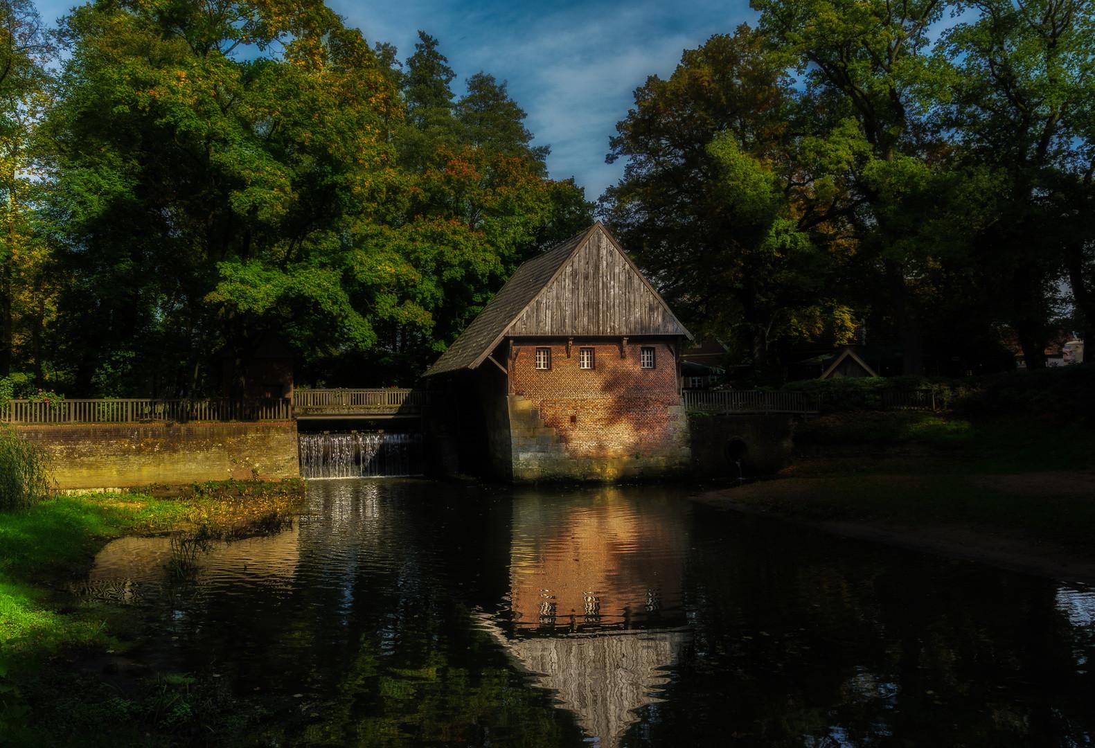 Es Klappert Die Mühle Am Rauschenden Bach  klappert Mühle am rauschenden Bach Foto & Bild