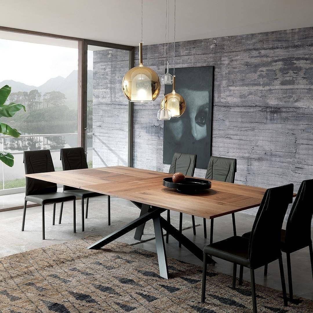 Esstisch Design  Der Ozzio Tisch 4x4 ist ein Design Esstisch mit besonderem
