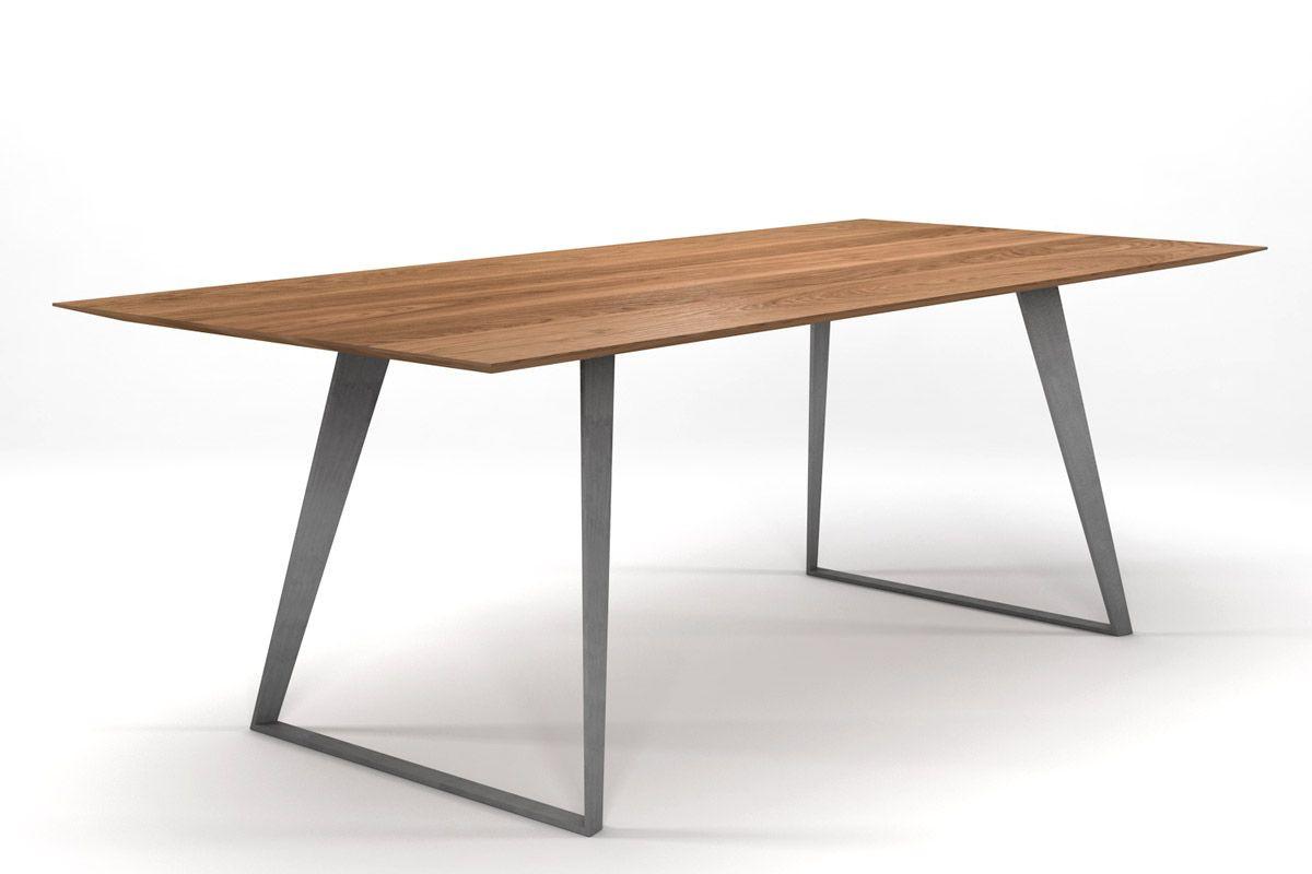 Esstisch Design  Design Esstisch Eiche massiv nach Maß [HOLZPILOTEN]