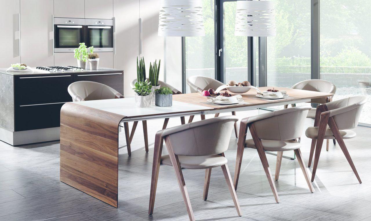 Esstisch Design  Esstisch Holz Design Ausziehbar – Bvrao