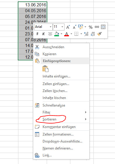 Excel Tabelle Sortieren  Excel Tabelle nach Datum sortieren So geht es TodayWePlay