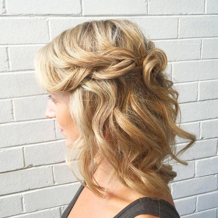 Festliche Frisuren Schulterlange Haare  Moderne Festliche Frisuren Mittellange Haare Feines Haar