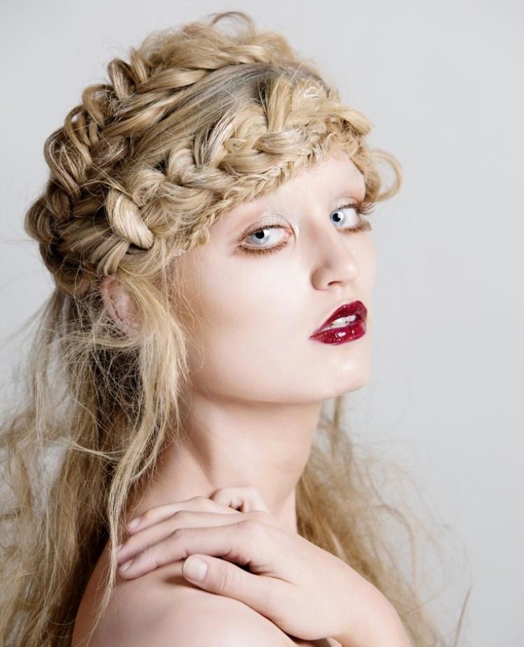 Festliche Frisuren Schulterlange Haare  Festliche Frisuren Schulterlange Haare Beispiele Für