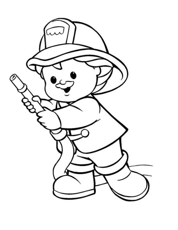Feuerwehr Ausmalbilder  Ausmalbilder für Kinder Malvorlagen und malbuch