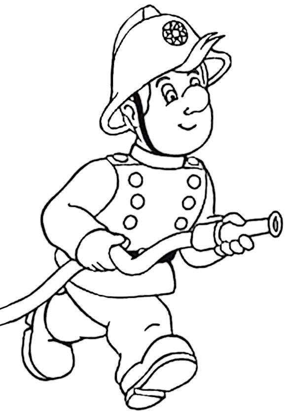 Feuerwehr Ausmalbilder  Feuerwehr 5