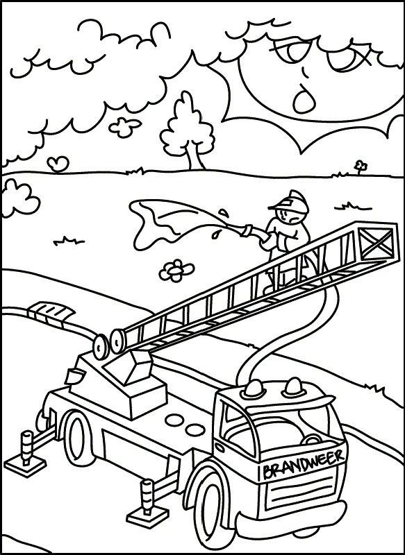 Feuerwehr Ausmalbilder  Ausmalbilder Feuerwehr