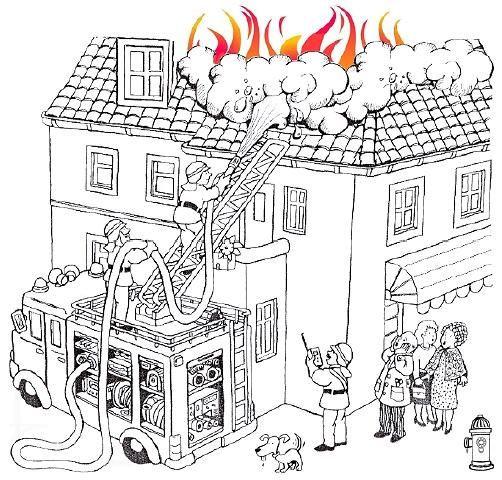 Feuerwehr Ausmalbilder  Malvorlagen