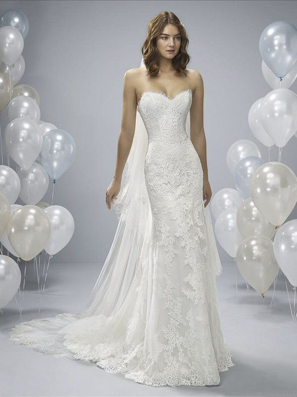 Fit And Flare Hochzeitskleid  Fit & Flare Brautmoden Claudia