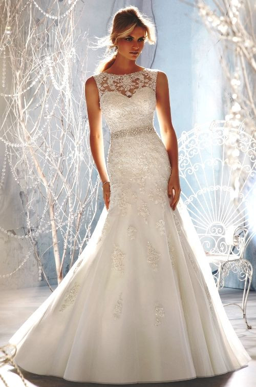 Fit And Flare Hochzeitskleid  Fit and Flare Wedding Gown to Get Figure Flattery Looks
