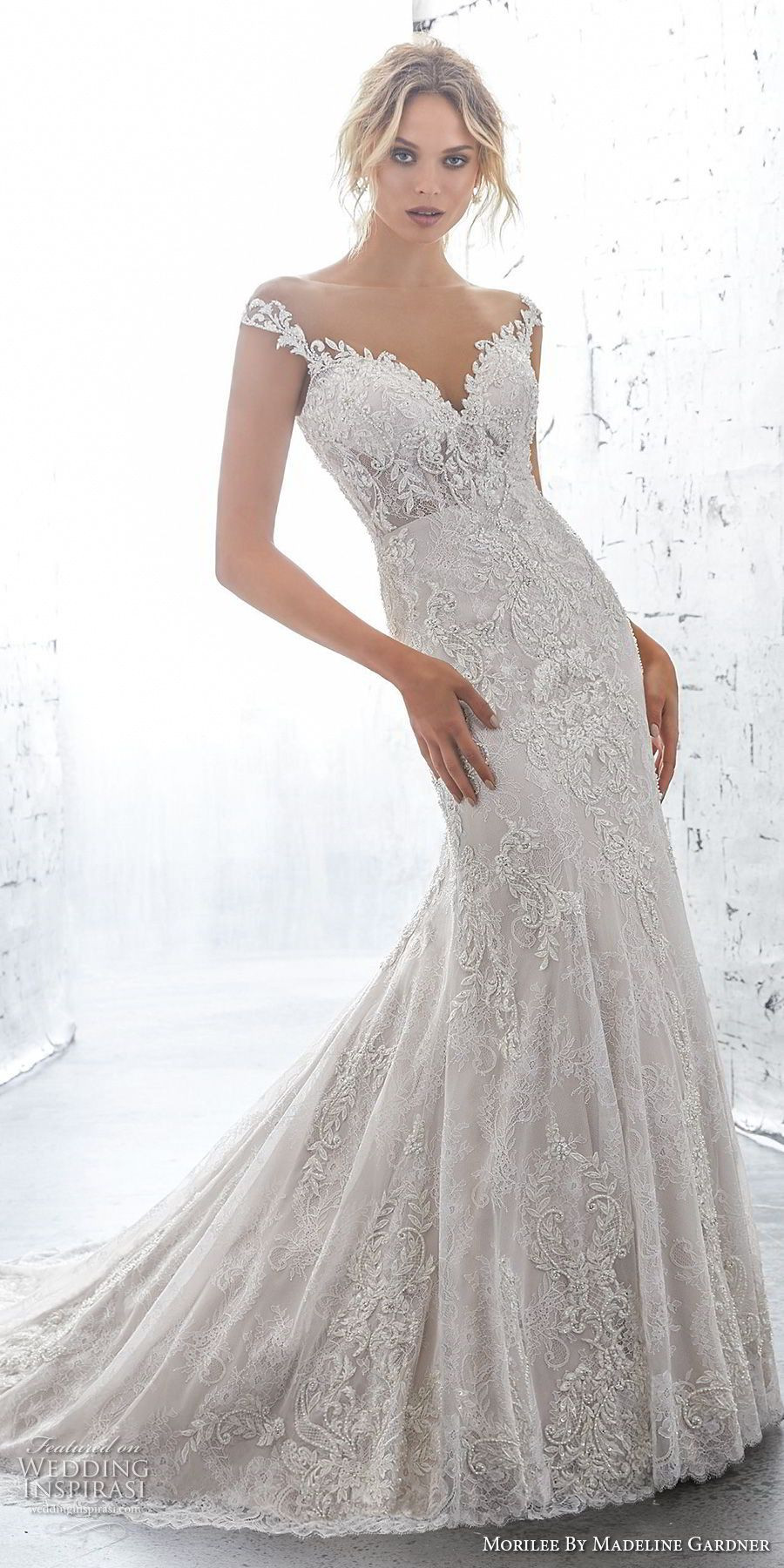 Fit And Flare Hochzeitskleid  Morilee von Madeline Gardner AF Couture 2018 Brautkleider
