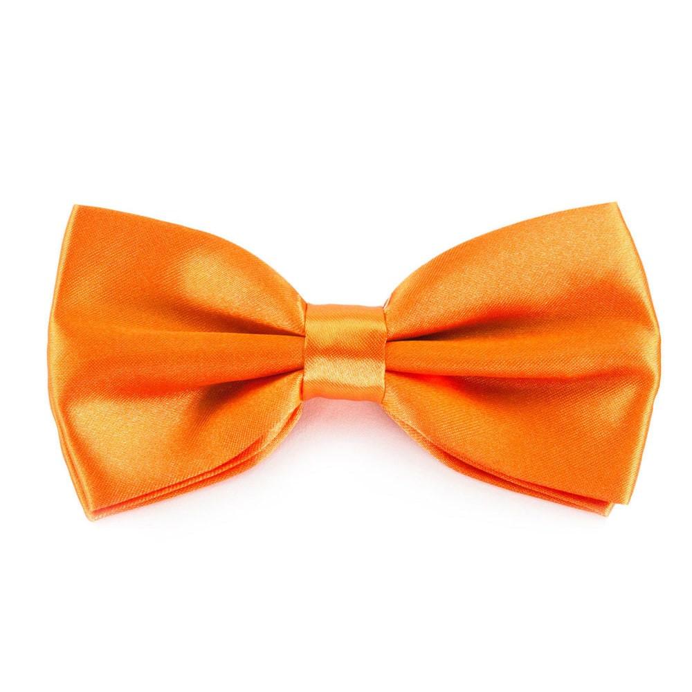 Fliege Hochzeit  Fliege Schleife Hochzeit Anzug Smoking orange