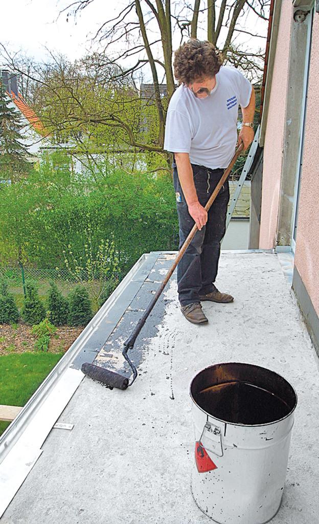 Fliesen Untergrund  Dachterrasse fliesen Terrasse & Balkon
