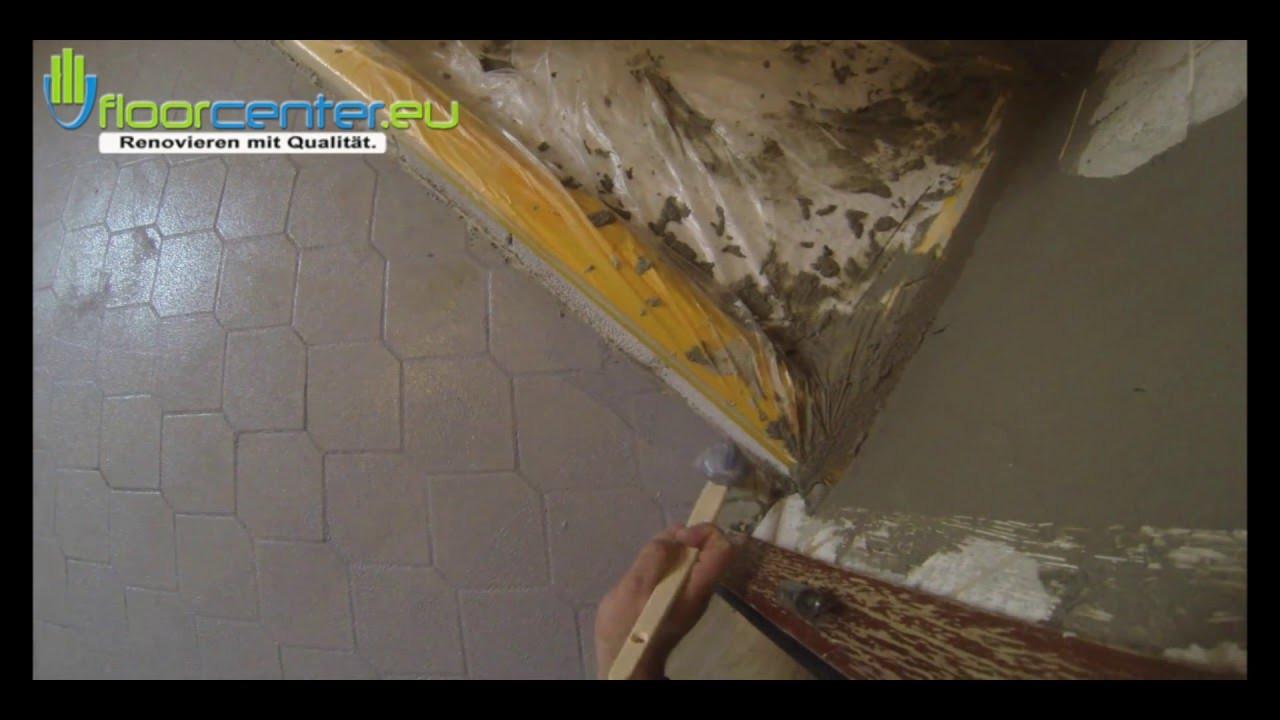 Fliesen Untergrund  fliesen auf fliesen verlegen untergrund vorbereiten