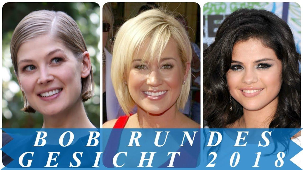 Frisuren Frauen Rundes Gesicht  Beste bob frisuren rundes gesicht 2018