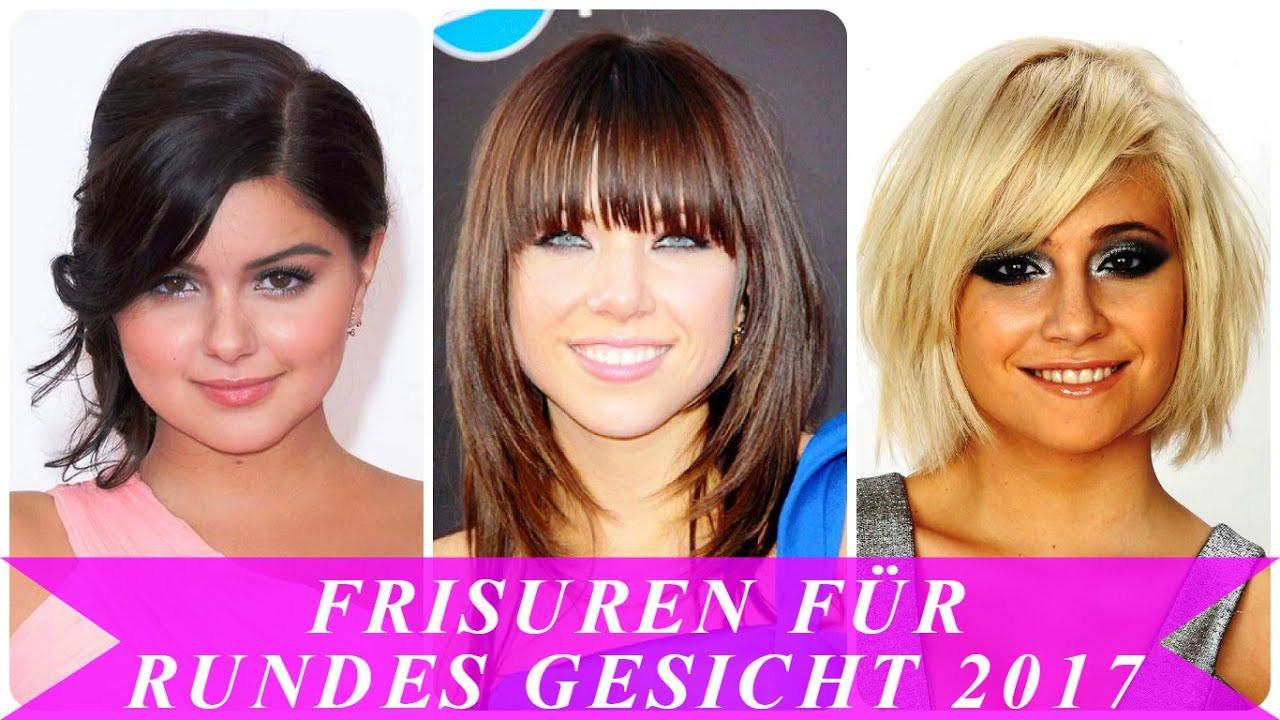 Frisuren Frauen Rundes Gesicht  Frisuren für rundes gesicht 2017