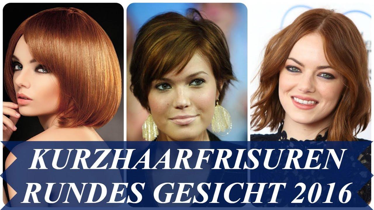 Frisuren Frauen Rundes Gesicht  Kurzhaarfrisuren rundes gesicht 2016
