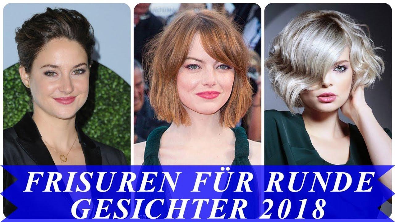 Frisuren Frauen Rundes Gesicht  Aktuelle frisuren für runde gesichter 2018