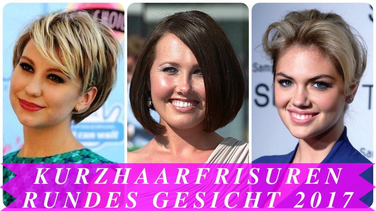 Frisuren Frauen Rundes Gesicht  Kurzhaarfrisuren rundes gesicht 2017