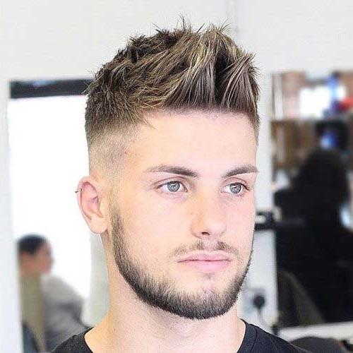 Frisuren Männer 2019  Kurz Frisuren Männer 2019 Mann mit Mädchen 2019