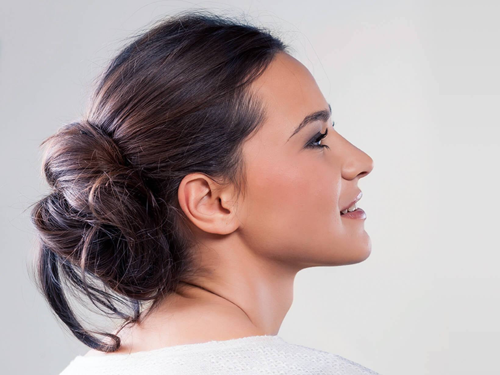 Frisuren Mit Dutt  Einfache Frisuren zum Nachmachen