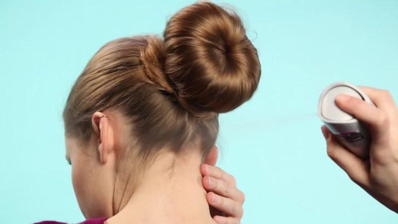 Frisuren Mit Dutt  Einfache Hochsteckfrisuren Sie nur in 5 Minuten kriegen