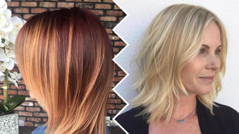 Frisuren Schulterlang 2019  Easy mittlerer Länge Haarschnitte für Frauen 2019