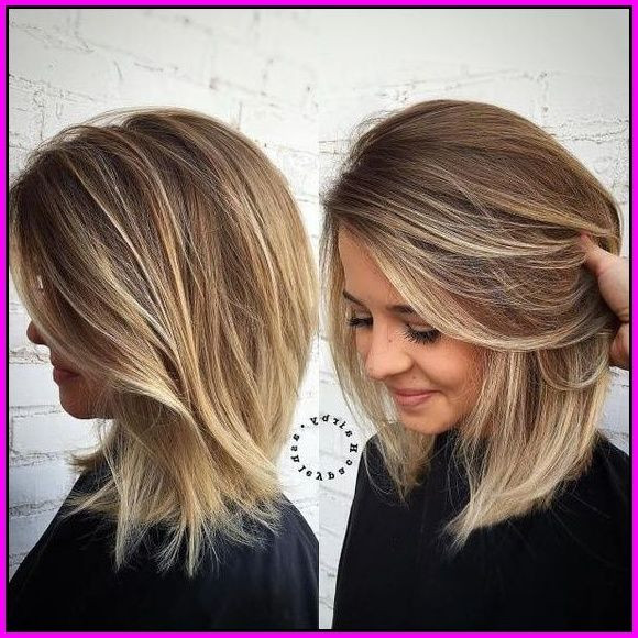 Frisuren Schulterlang 2019  Die 10 Besten Mittellang Blonde Frisuren – Schulterlang