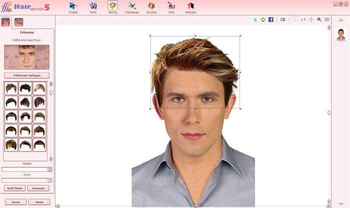 Frisuren Testen Mit Eigenem Foto  Beauty Studio Hair Master Download