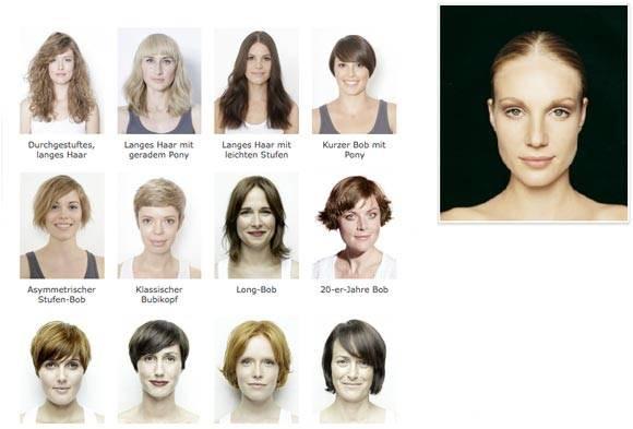 Frisuren Testen Mit Eigenem Foto  BRIGITTE Frisuren zum Testen
