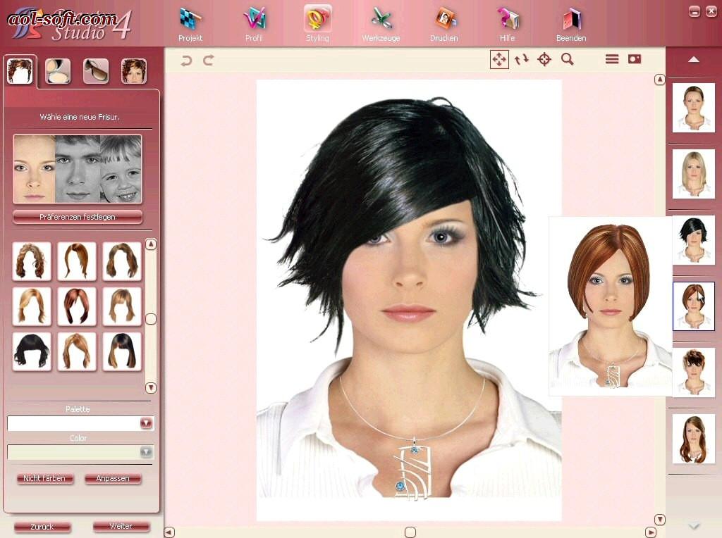 Frisuren Testen Mit Eigenem Foto  Virtuell Frisuren Testen Kostenlos