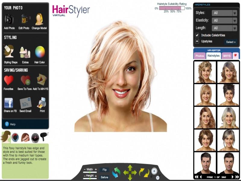 Frisuren Testen Mit Eigenem Foto  Moderne Frisuren – Website Foto Blog