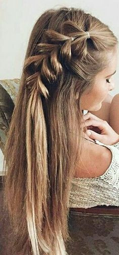 Frisuren Zur Einschulung  Einfache Frisuren für Weihnachten