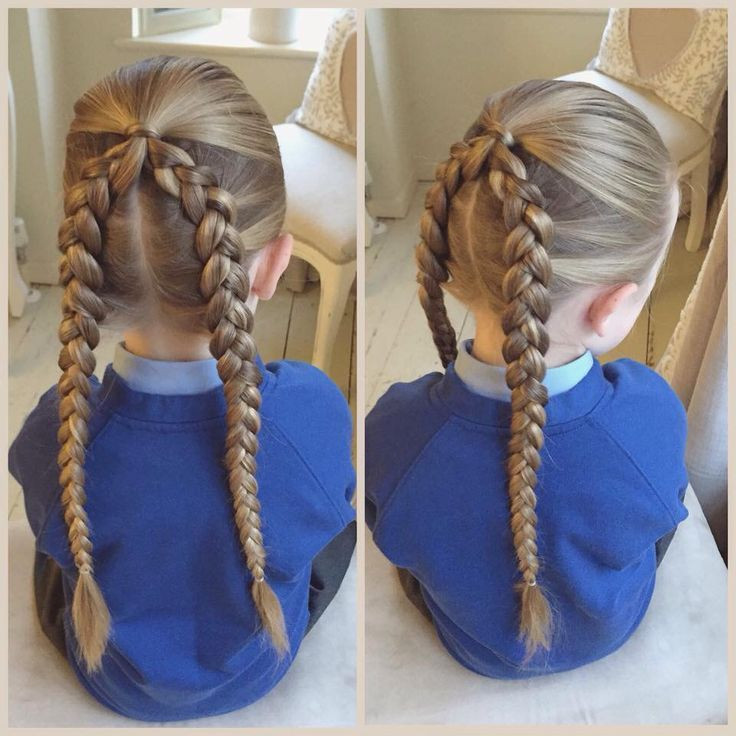 Frisuren Zur Einschulung  Haare machen Frisuren Kinder Pinterest